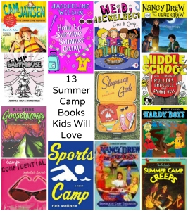 13 Summer Camp Books